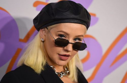 Christina Aguilera is Dark & Seductive in 'Zoe' First Look Photo