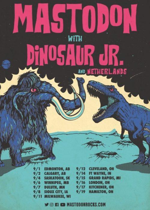 Mastodon and Dinosaur Jr