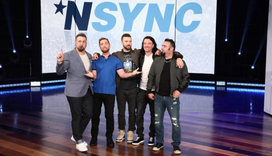 NSYNC, BTS, U2's Bono and The Edge Heading to 'Ellen'