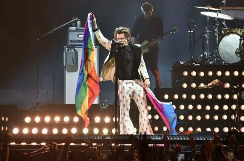 Harry Styles Helps Fan Come Out at San Jose Show