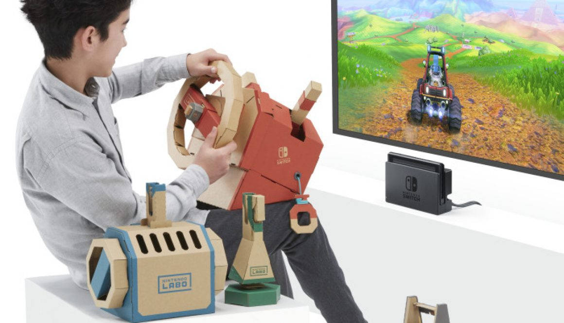 Nintendo Releases Labo Vehicle Kit Details Ahead of Sept