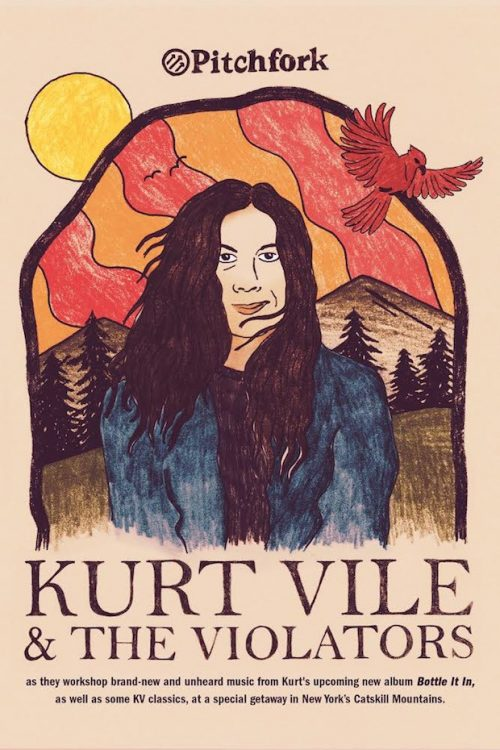 Announcing Pitchfork Live With Kurt Vile