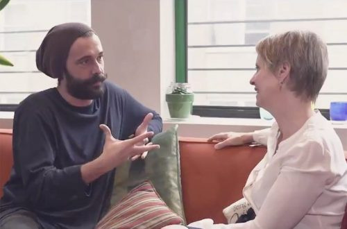Watch 'Queer Eye' Star Jonathan Van Ness Chat With Cynthia Nixon About New York Governor's Race
