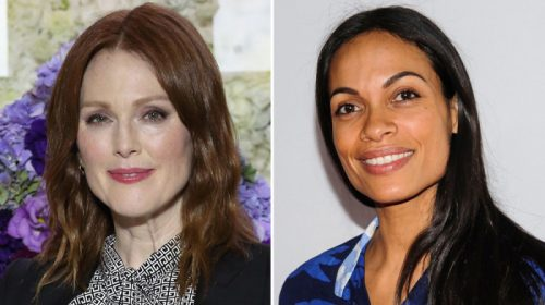 Julianne Moore, Rosario Dawson Urge Voters to Combat Trump Immigration Policies (Watch)
