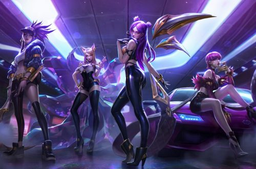 'League of Legends' Unveils Virtual K-Pop Girl Group K/DA & Looks to Future of Music in Esports