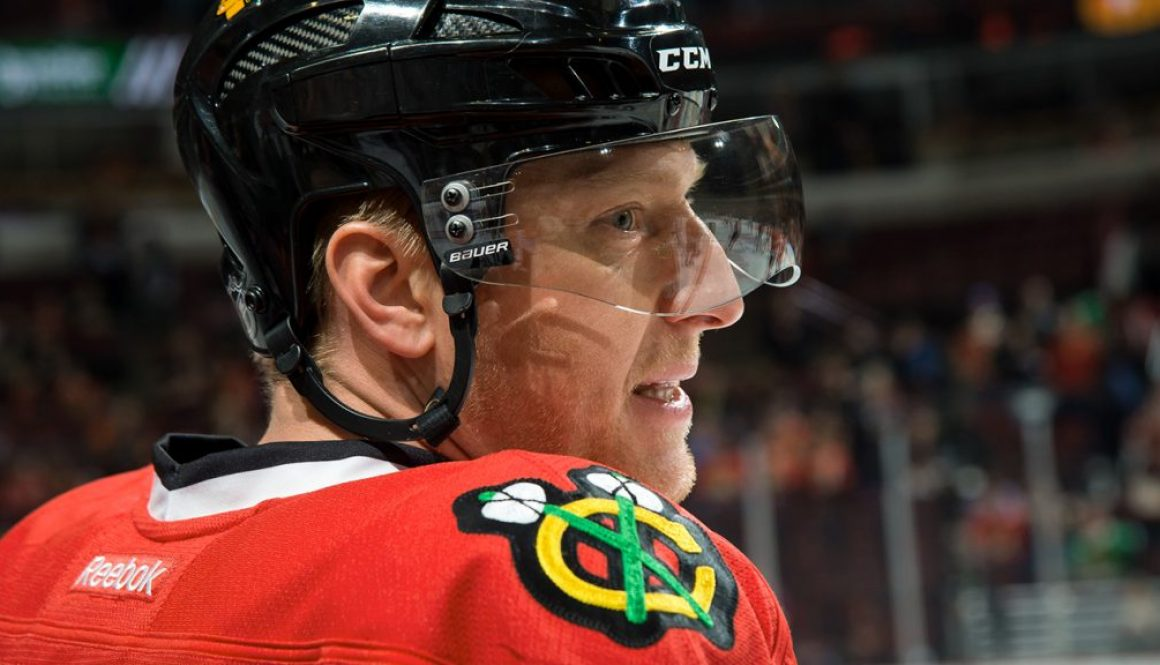 Chicago Blackhawks Marian Hossa exits game with upper-body injury, questionable for Friday's game