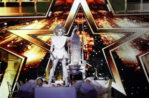 Prince Poppycock Turns up the Drama With Lady Gaga Cover on 'AGT: The Champions': Watch