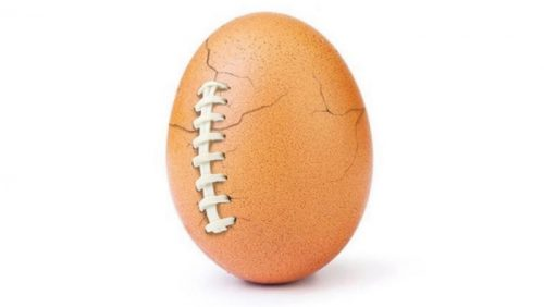 Hulu Buys Sponsorship With Instagram's World Record Egg, Tied to Super Bowl
