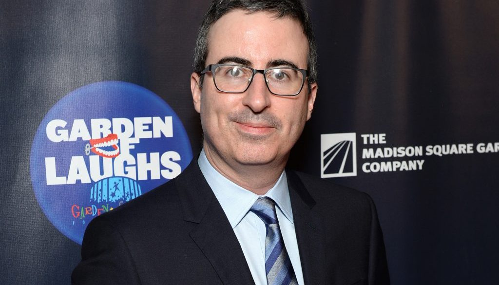 John Oliver on 'The Late Show': 'We Have to Stay Alive' During Trump Presidency