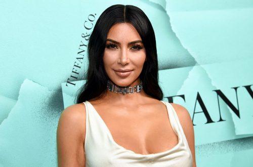 Kim Kardashian Asks Retailers Not to Copy Her Dress & Fashion Brand Immediately Posts Duplicate