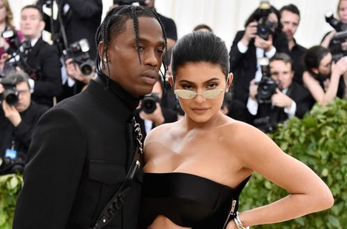 Kylie Jenner Shares Photo of Travis Scott for Stormi's First Birthday