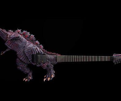 'Shin Godzilla' Limited-Edition Guitars On Sale in Japan