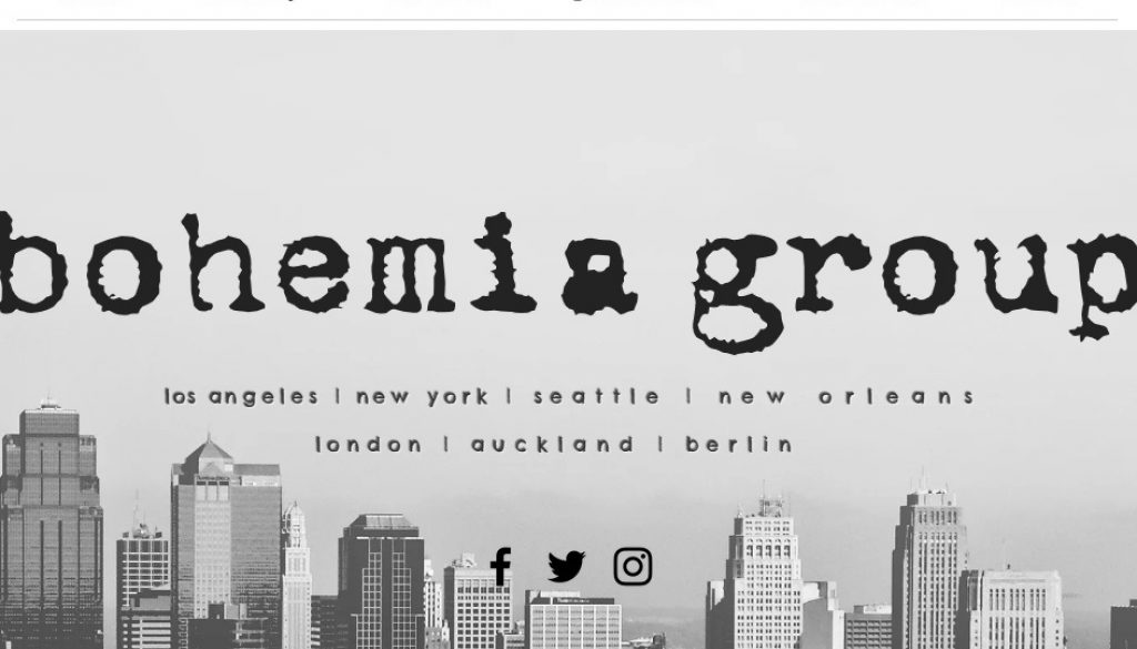 Bohemia Group Launches Music Media Division