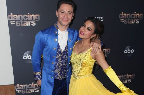 Ally Brooke Earns Monster Score With 'Beauty and the Beast' Routine on 'DWTS'