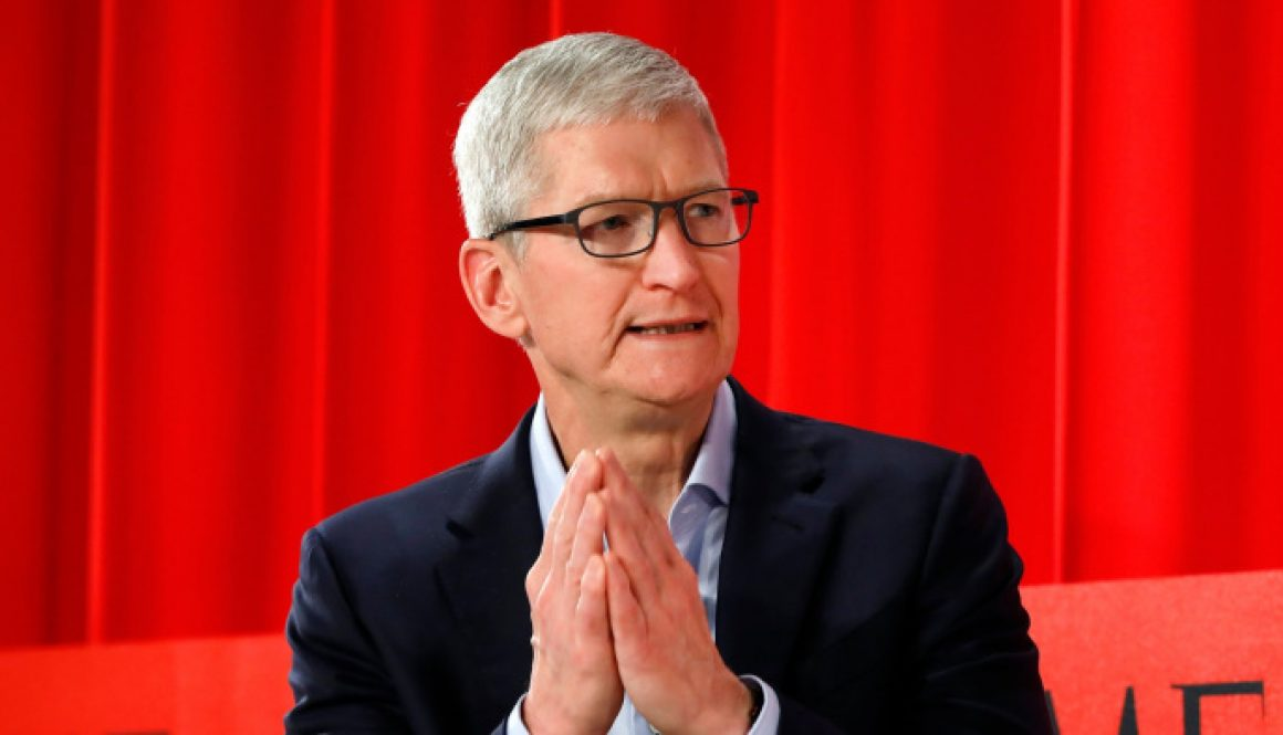 Apple CEO Tim Cook Defends Decision to Withdraw Hong Kong Protest App