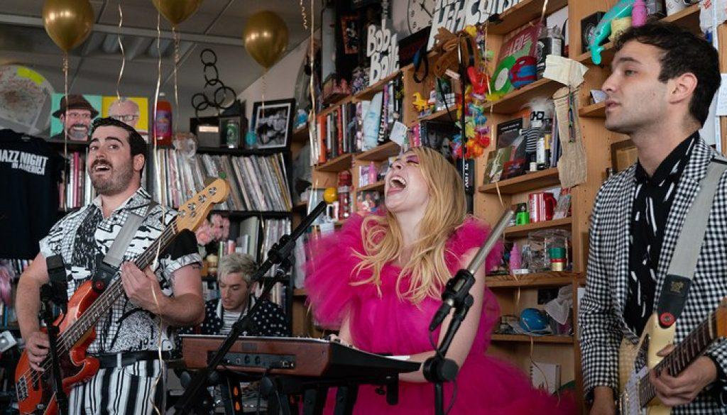 "Watch Charly Bliss' NPR's ""Tiny Desk Concert"""