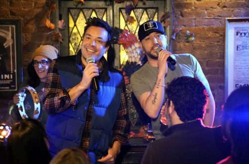 Jason Aldean Joins Jimmy Fallon for Funny Thanksgiving Ode to Their 'Hometown Bar': Watch