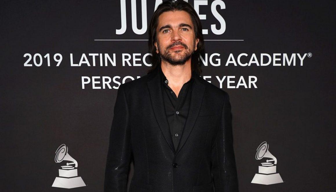 Ozuna, Rosalia, Fito Paez, Sebastian Yatra and More Honor Juanes at Latin Recording Academy 2019 Person of the Year