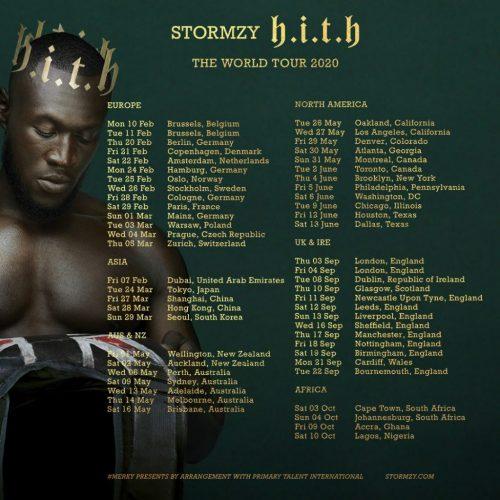 Stormzy Announces 2020 World Tour