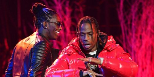 """Travis Scott Joins Young Thug and Gunna on New """"Hot"""" Remix: Listen"""