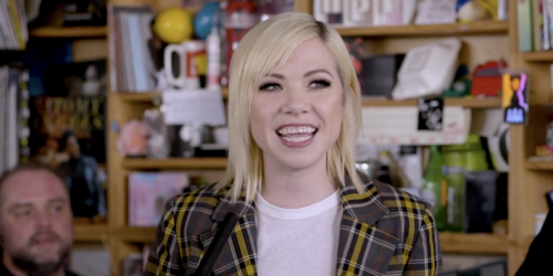 "Watch Carly Rae Jepsen Perform on NPR's ""Tiny Desk Concert"""