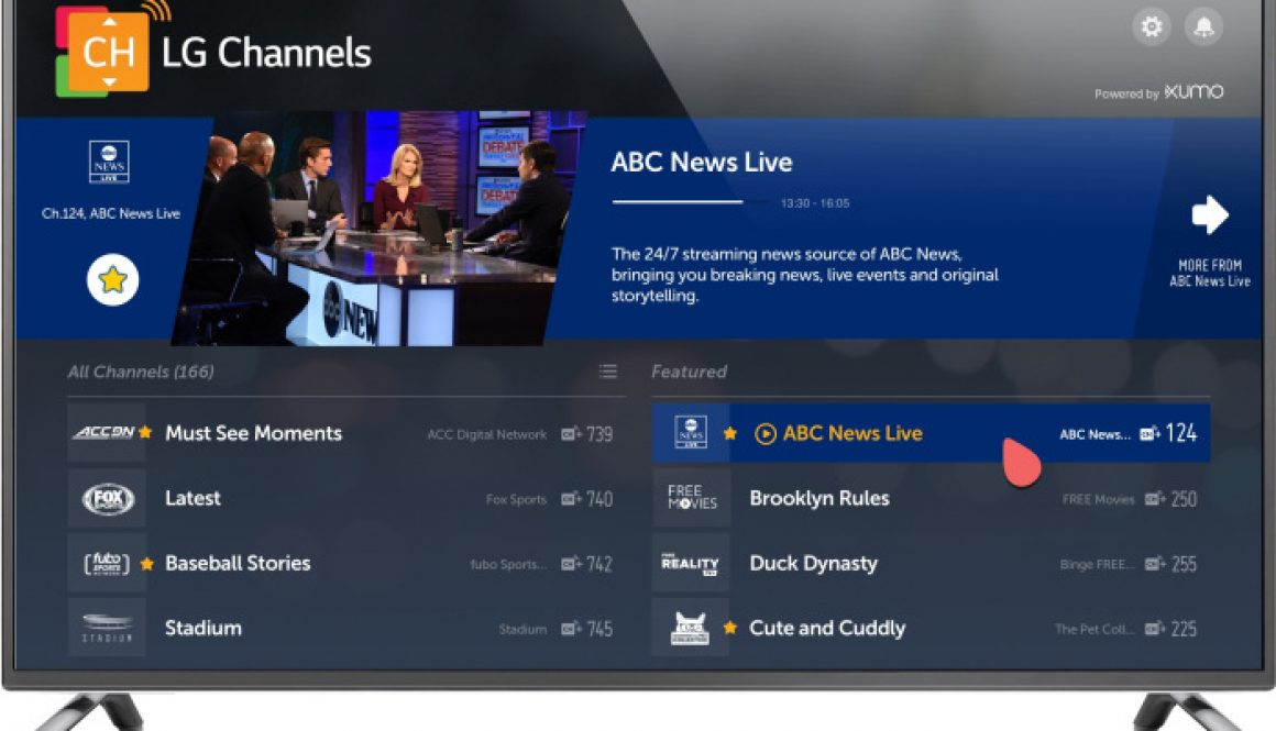 Xumo Adds ABC News Live Just In Time for the 2020 Election