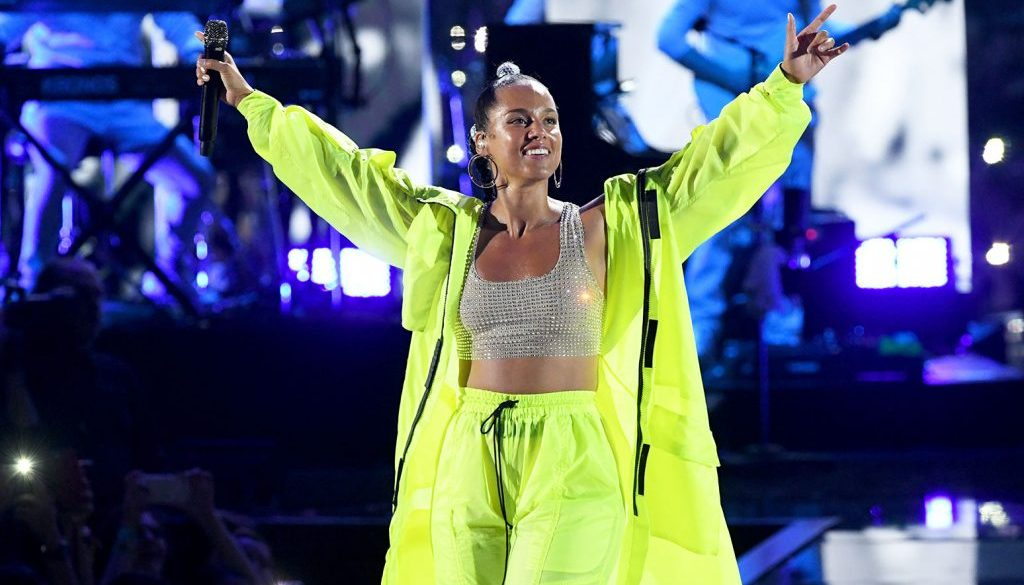 Alicia Keys Nails 'Late Late Show' Hosting Gig with Musical 2019 Recap, All-Female Audience Tribute Song: Watch