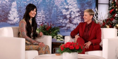 "Watch Kacey Musgraves Chat, Perform ""Christmas Makes Me Cry"" on Ellen"