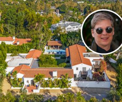 'Microsoft Millionaire' Chris Peters Lists Celeb-Pedigreed Bel Air Estate