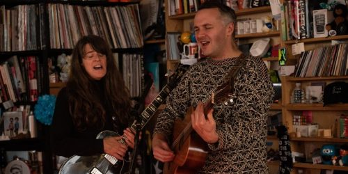 Watch Mount Eerie and Julie Doiron Play NPR's Tiny Desk