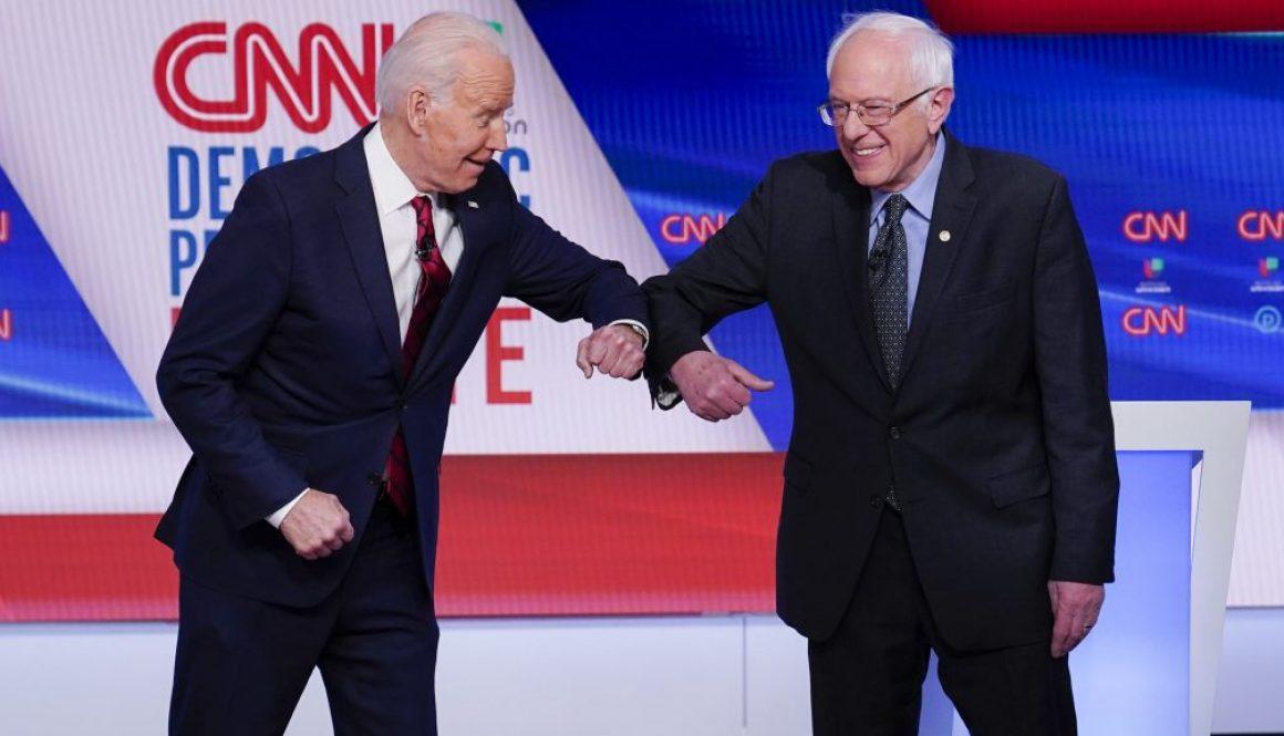 Joe Biden and Bernie Sanders Clash on Coronavirus Response in Debate
