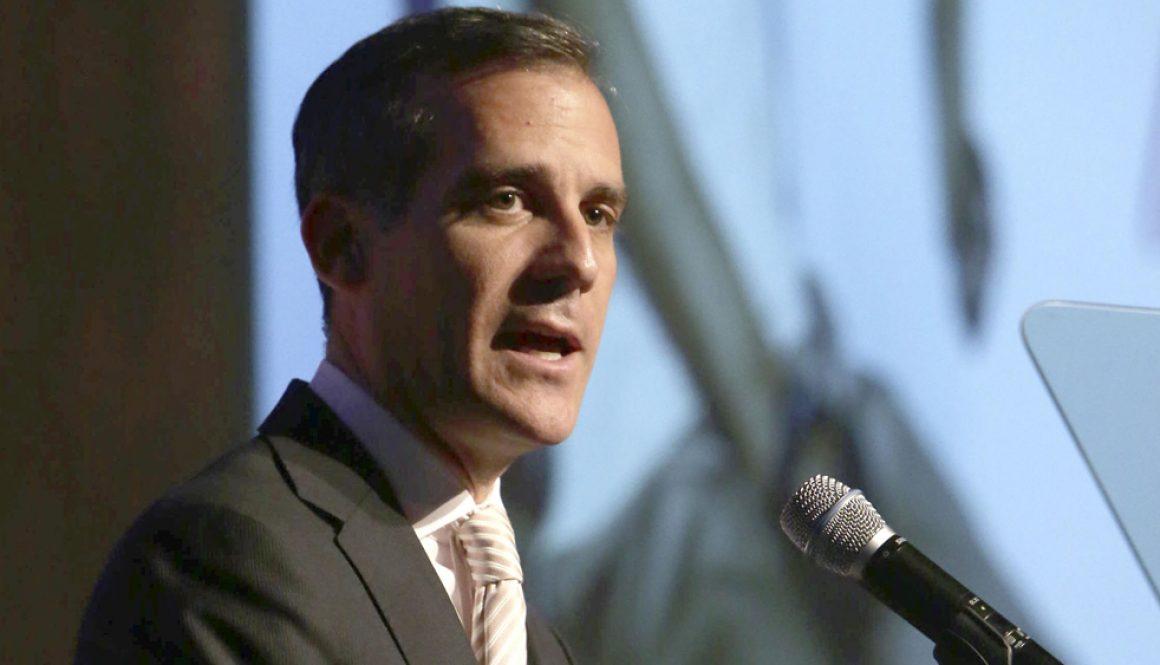 Los Angeles Mayor Eric Garcetti Announces Furlough Plan for City Workers