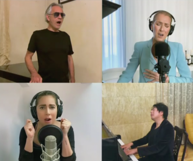 Watch Lady Gaga Lead Star-Studded 'The Prayer' with Celine Dion, John Legend and Andrea Bocelli for 'Together at Home'