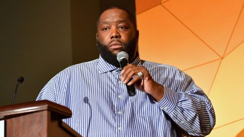 Killer Mike Delivers Emotional Speech to Atlanta Protesters at Mayor's Press Conference