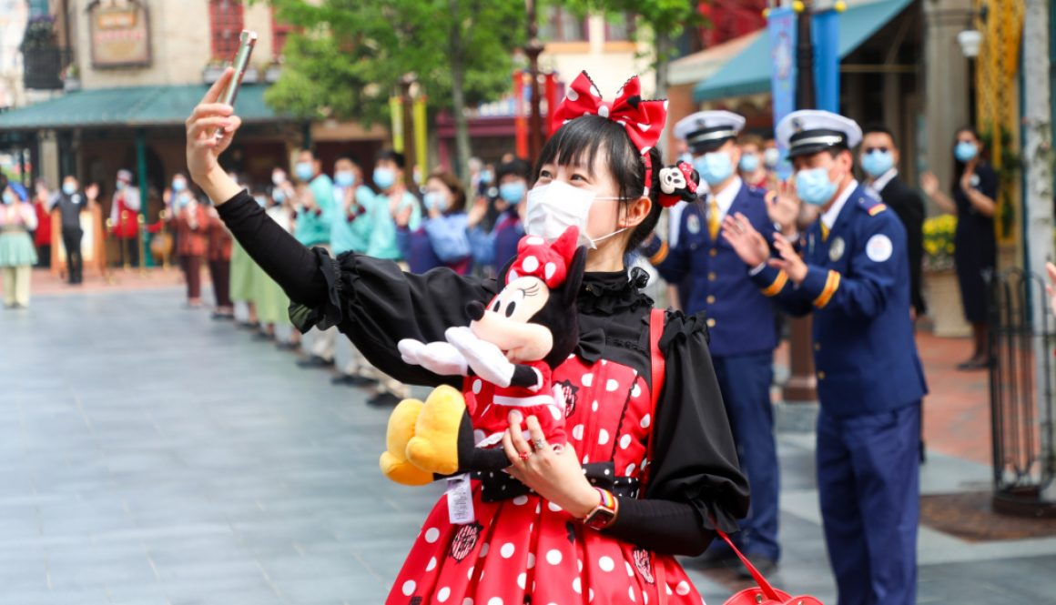 Shanghai Disneyland Makes Post-Coronavirus Reopening, but at 20% Capacity