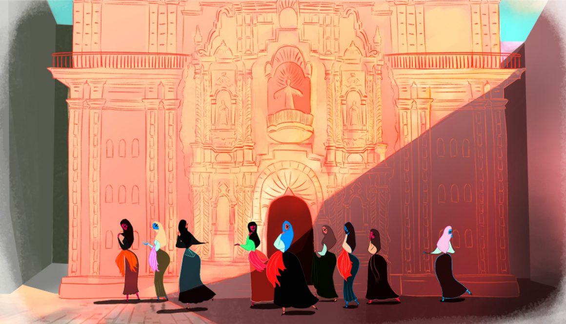 Annecy 2020: A Cloaked Tale of Female Resistance Leads Mifa's Animation du Monde Pitches