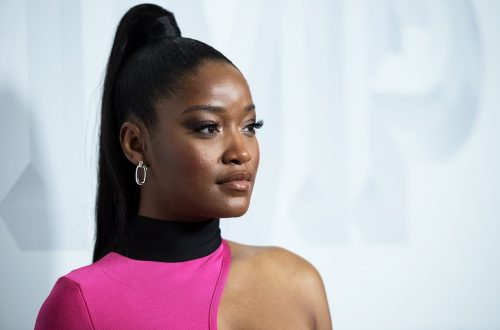 Keke Palmer Addresses National Guard Soldiers at L.A