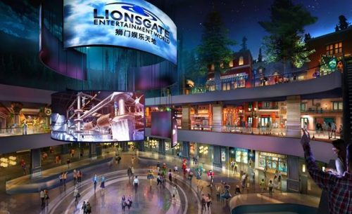 Lionsgate Announces June 24 Re-Opening of China Theme Park