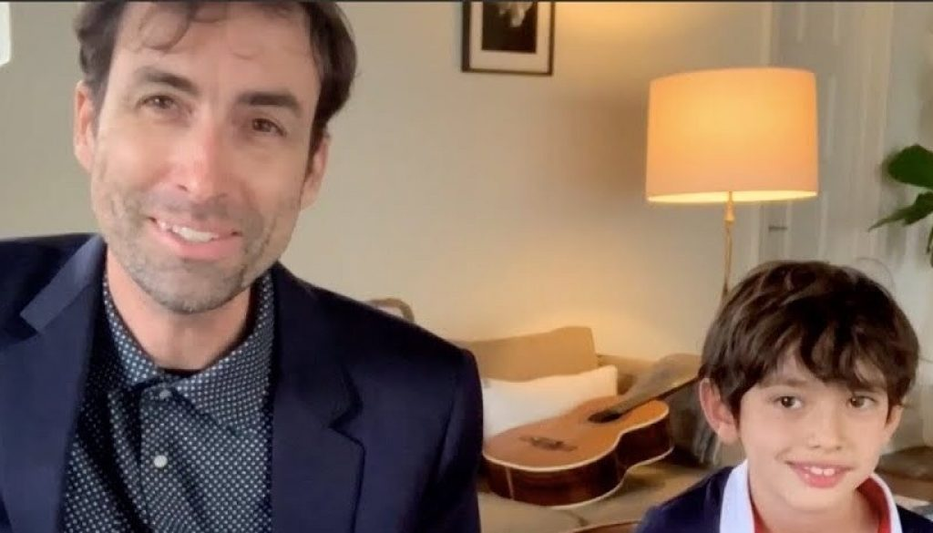 """Watch Andrew Bird Perform """"Manifest"""" With His Family on Colbert"""