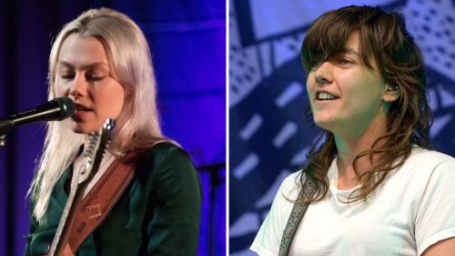 """Watch Phoebe Bridgers and Courtney Barnett Cover Gillian Welch's """"Everything Is Free"""""""