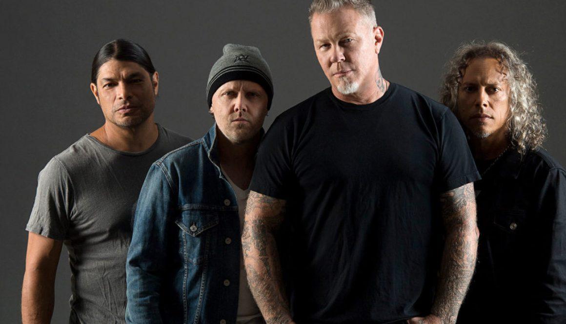 Metallica Eye Fourth No. 1 In U.K