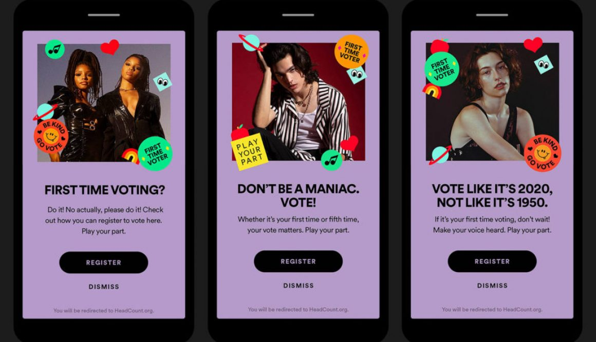 Spotify Enlists Conan Gray, Chloe x Halle & More for 'Play Your Part' Voter Turnout Initiative