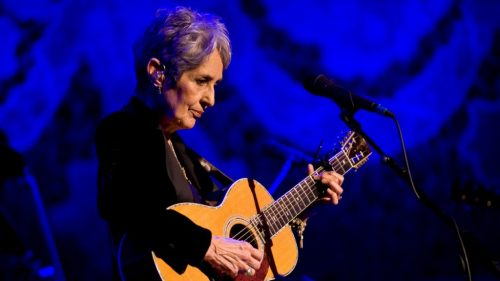 Joan Baez to Receive Kennedy Center Honor
