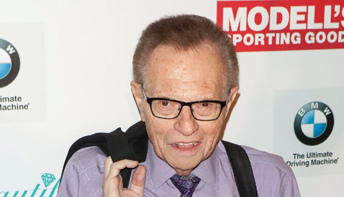 Larry King Hospitalized With COVID-19 (Report)