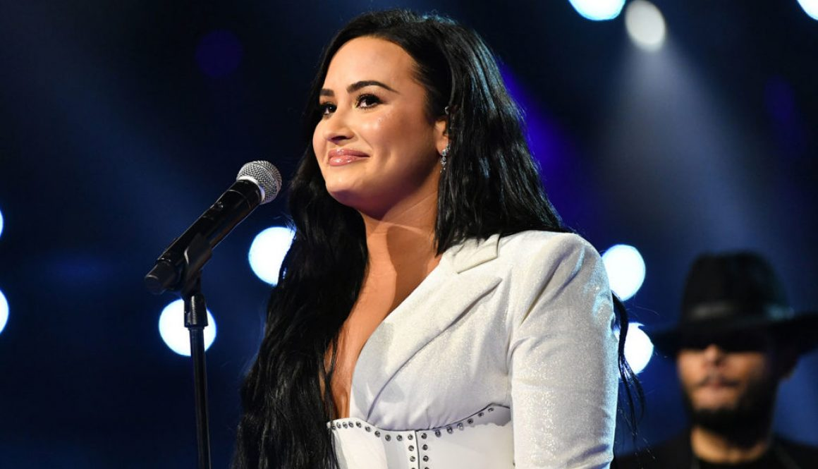 Looks Like Demi Lovato Is Back in the Studio