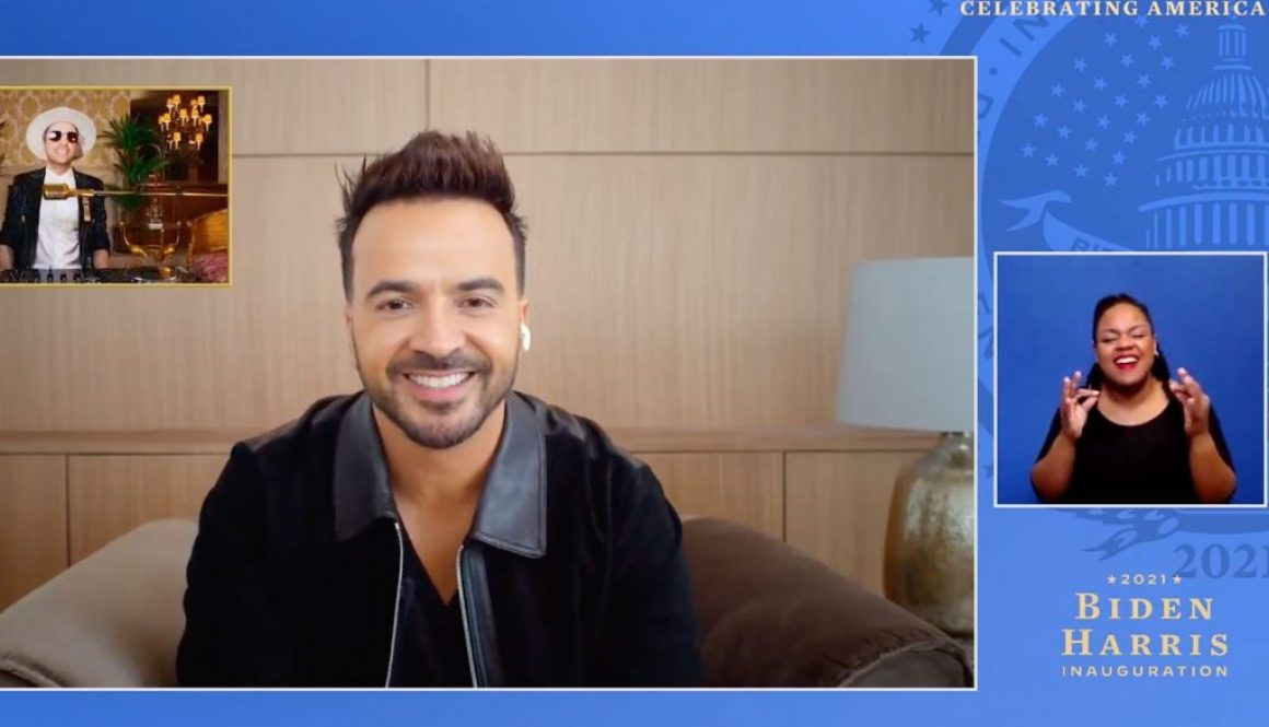 Luis Fonsi 'Immediately Said Yes' to Performing One of Biden's 'Favorite Songs' at Inauguration