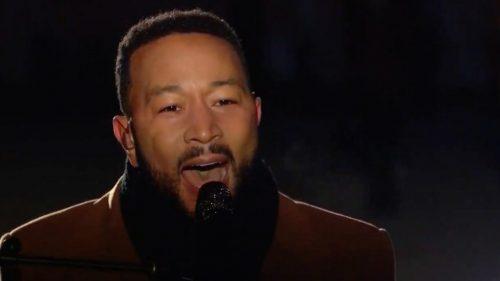 "Watch John Legend Perform ""Feeling Good"" for Biden Inauguration"