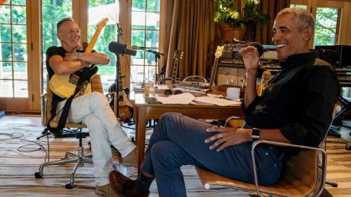 Bruce Springsteen and Barack Obama Discuss Joni Mitchell, Stevie Wonder, and More in New Podcast Clip: Listen