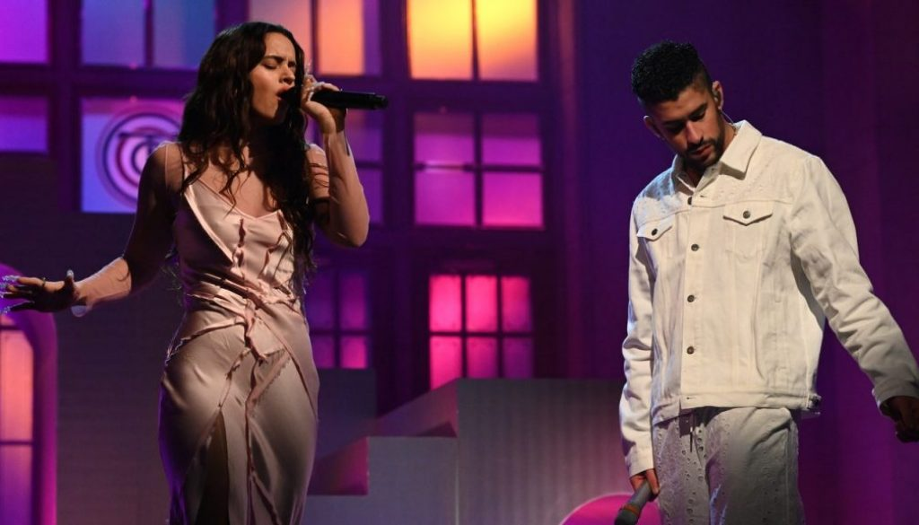 "Watch Bad Bunny and Rosalía Perform ""La Noche de Anoche"" on SNL"