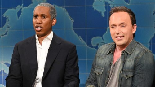 Bruce Springsteen and Barack Obama's Podcast Parodied on SNL: Watch